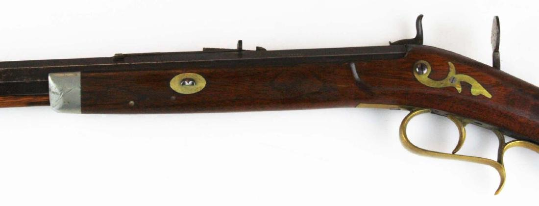 S.S. Baird Chittenden VT percussion rifle .34. Cal. - 9