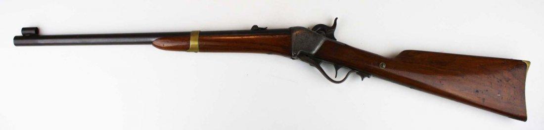 Rare Engraved Sharps 1851 Boxlock Carbine- Robbins and - 2