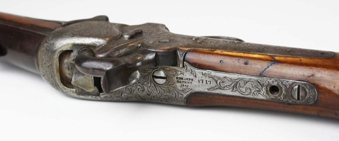 Rare Engraved Sharps 1851 Boxlock Carbine- Robbins and - 7