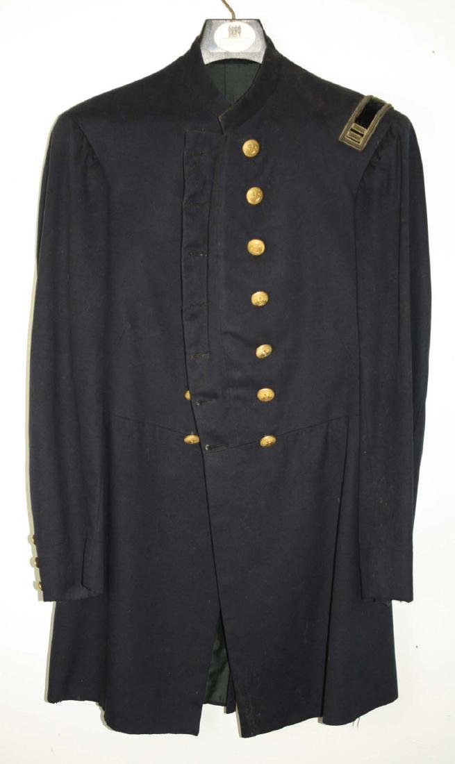 VT Civil War Officers Double Breasted frock coat