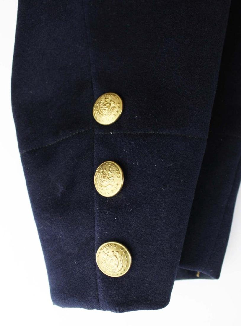 VT Civil War Officers Double Breasted frock coat - 8