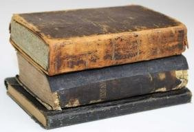 Personal diary and two bibles carried by 2nd VT