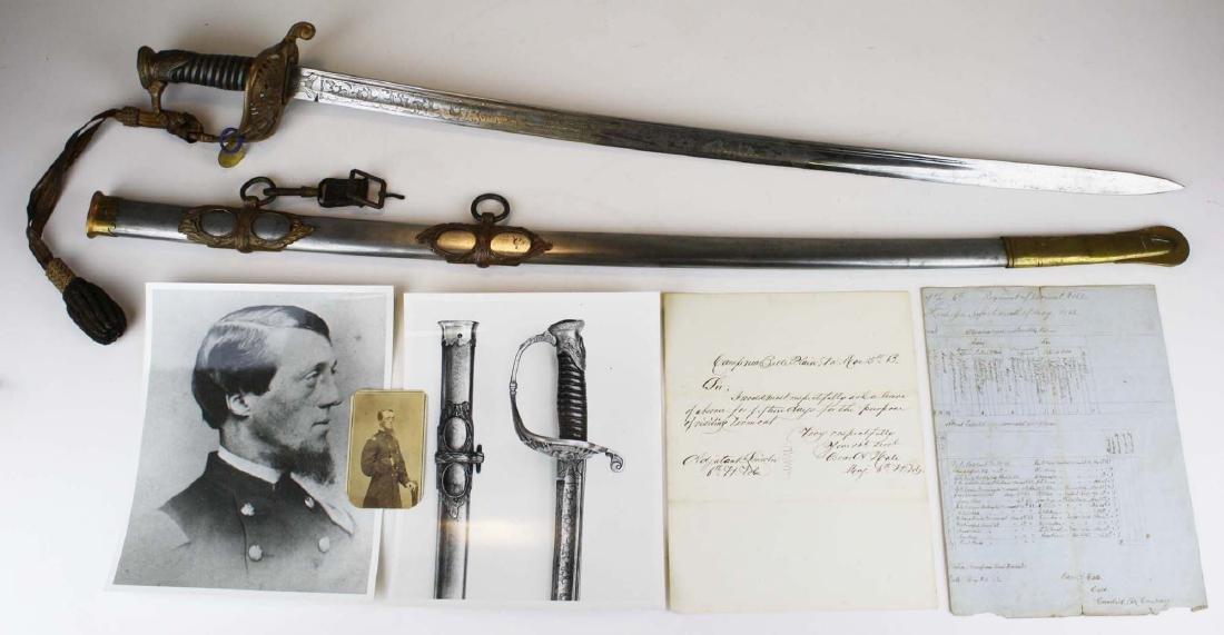 6th Vermont Civil War Presentation Sword
