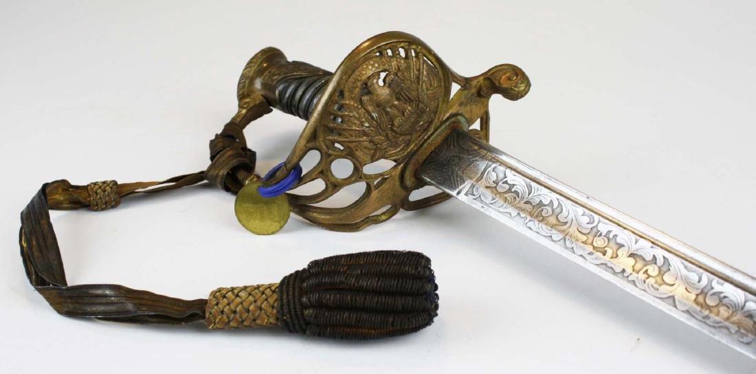 6th Vermont Civil War Presentation Sword - 2