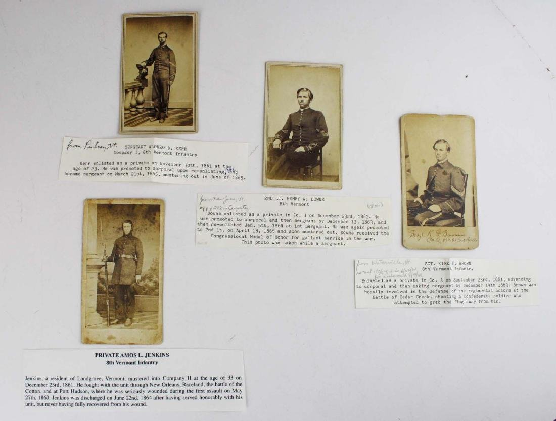 eight CDVs of 8th VT Soldiers - 6
