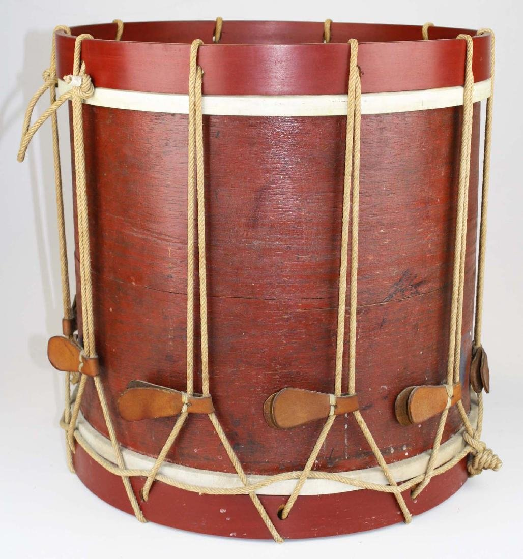 Marked 9th Vermont Company grade Infantry Drum, - 3