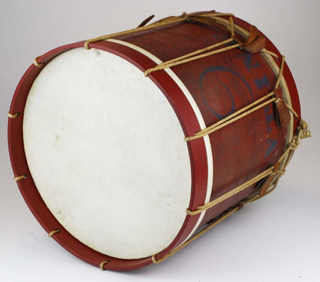 Marked 9th Vermont Company grade Infantry Drum, - 4