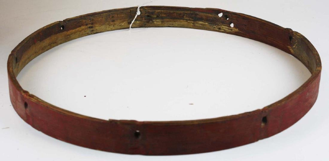 Marked 9th Vermont Company grade Infantry Drum, - 8