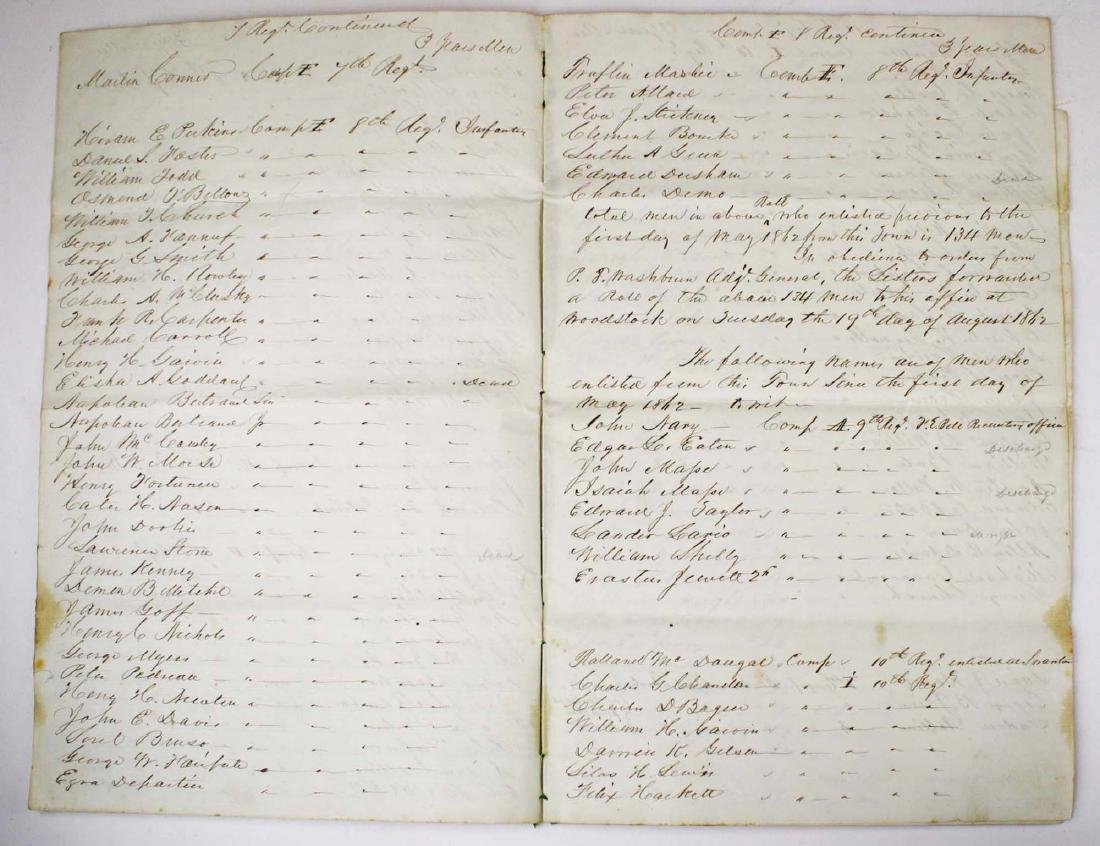 VT Civil War Record of Volunteers - 3
