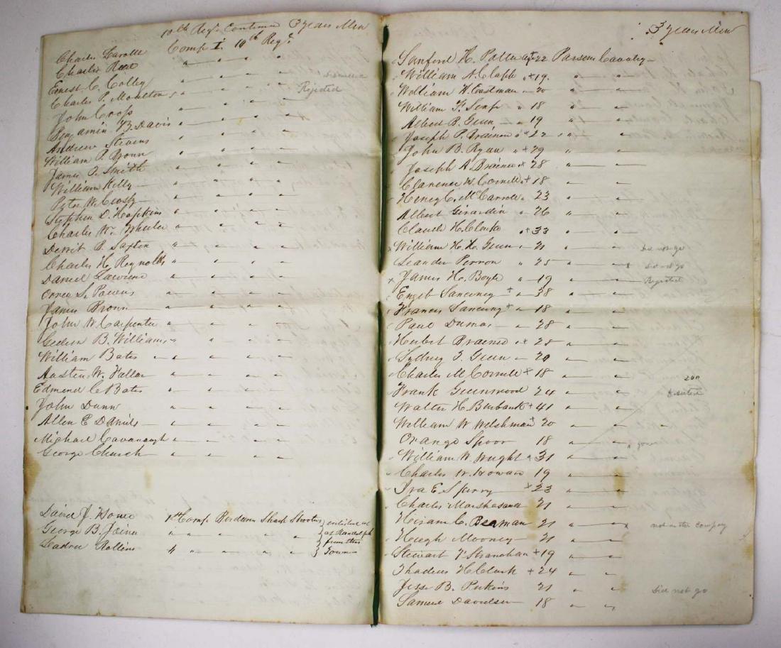 VT Civil War Record of Volunteers - 4
