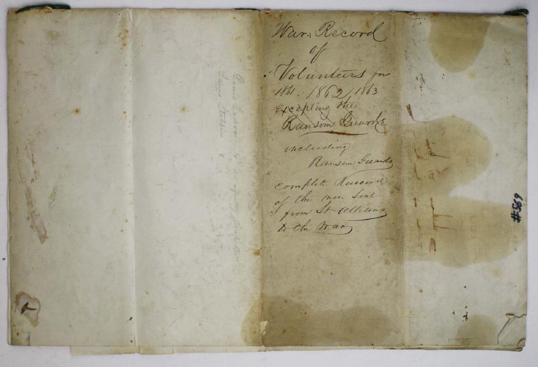 VT Civil War Record of Volunteers - 7