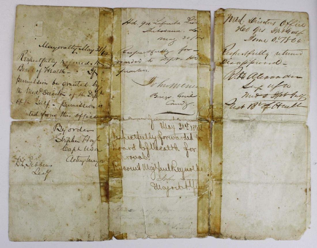 4 VT Civil War soldier's letters - 3