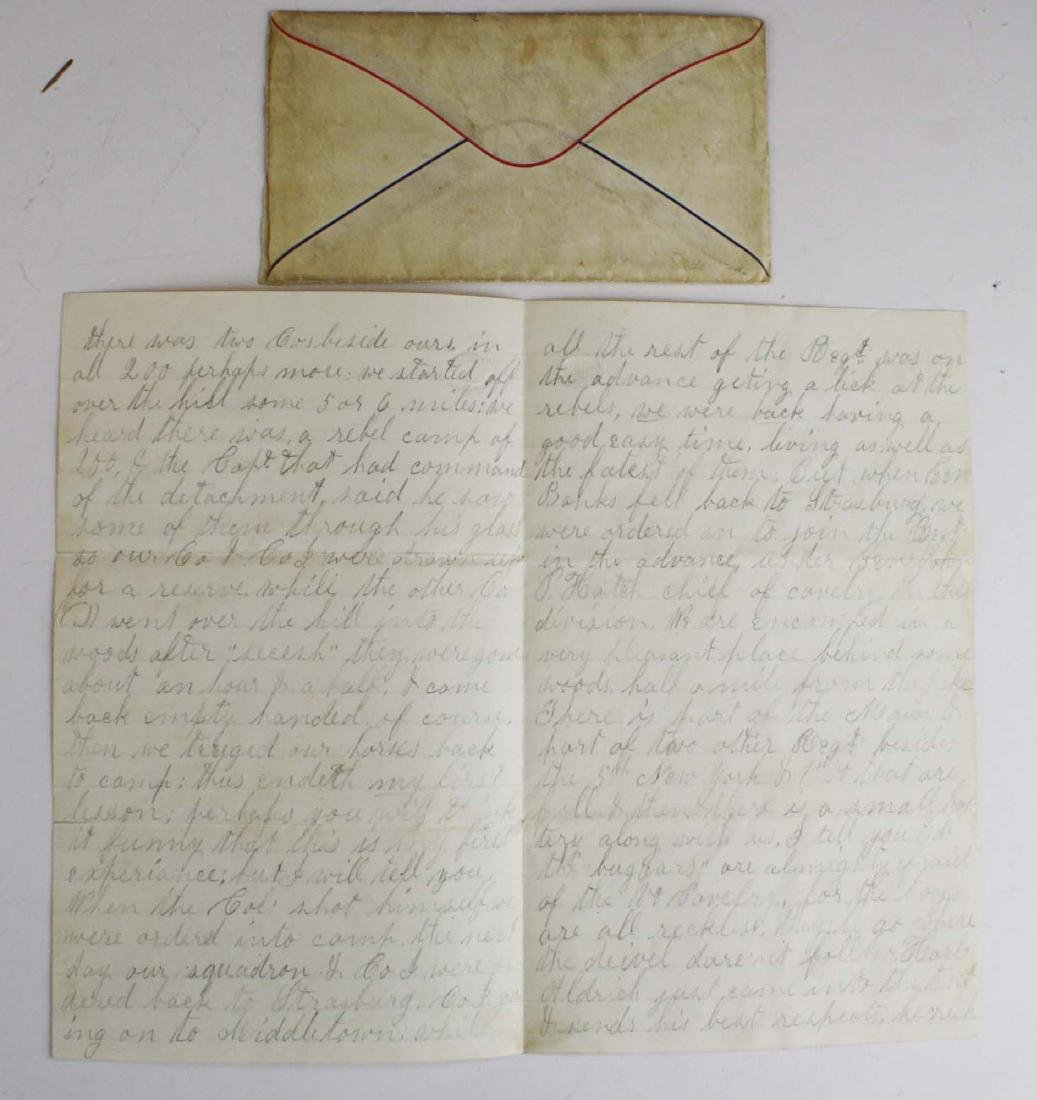 4 VT Civil War soldier's letters - 5
