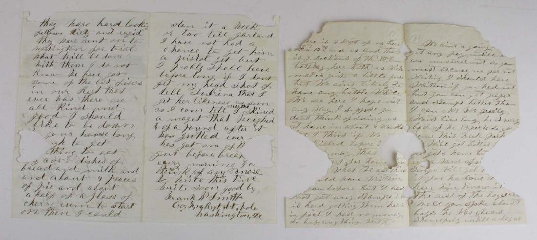 10 VT Civil War soldier's letters - 9