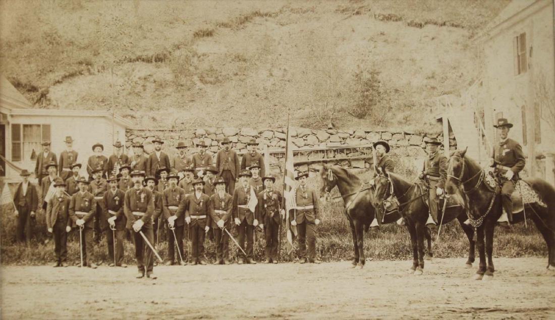 VT post Civil War GAR photograph