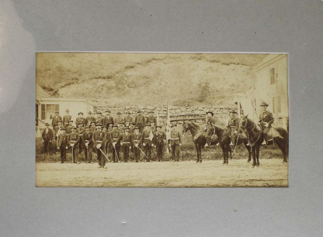 VT post Civil War GAR photograph - 2