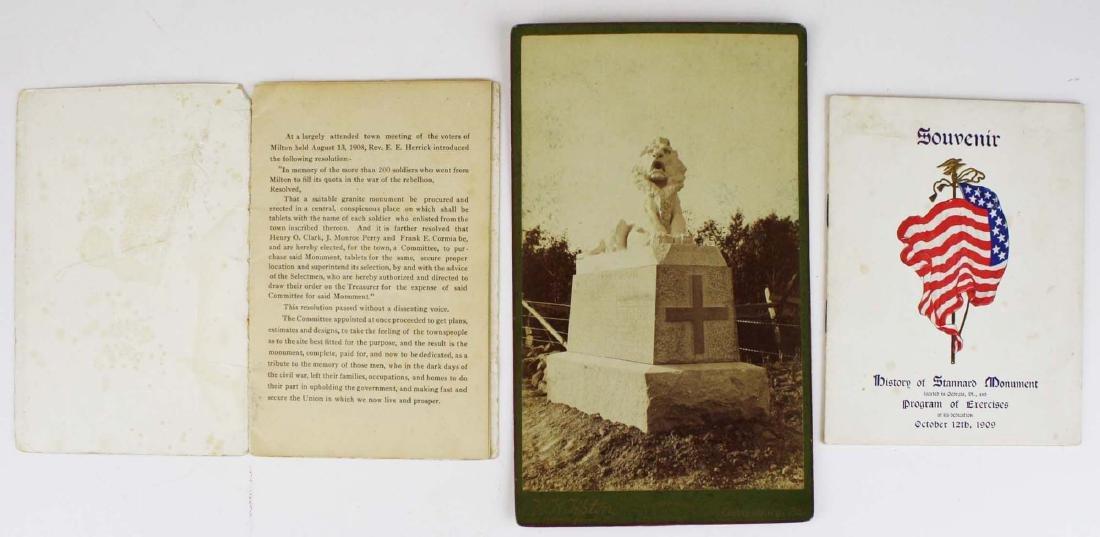 VT Civil War Soldier's Monuments - 2