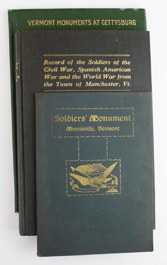 VT Civil War Soldier's Monuments - 8