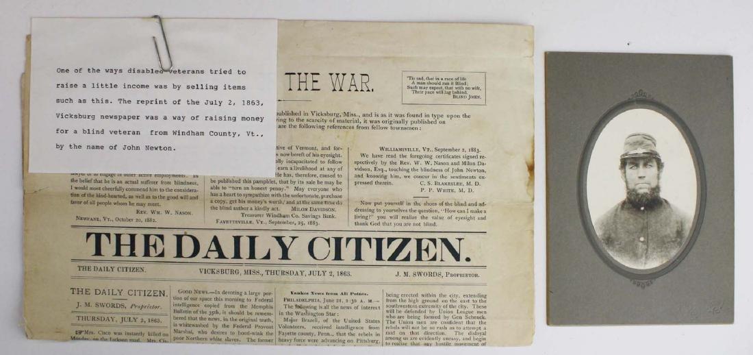 VT Civil War paper & ephemera - 3
