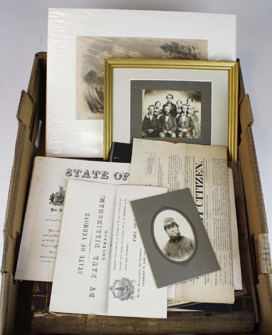 VT Civil War paper & ephemera - 8