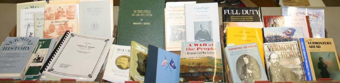 VT Civil War reference books & pamphlets