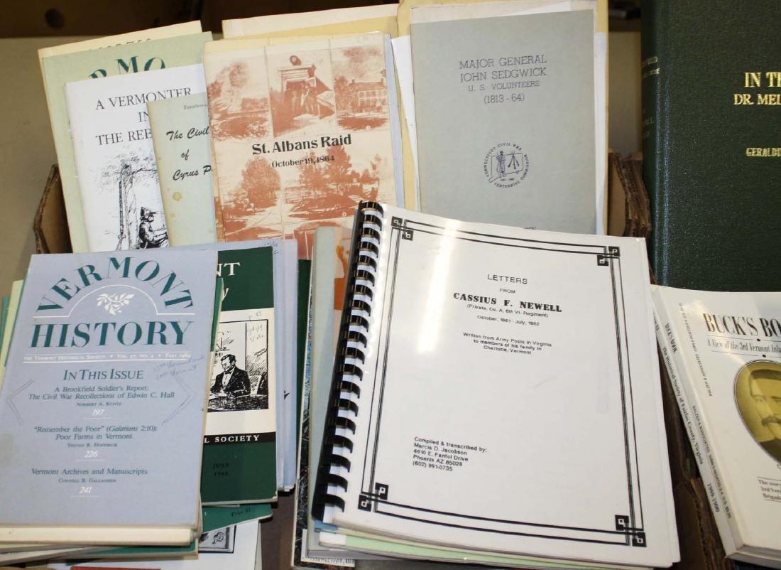 VT Civil War reference books & pamphlets - 2