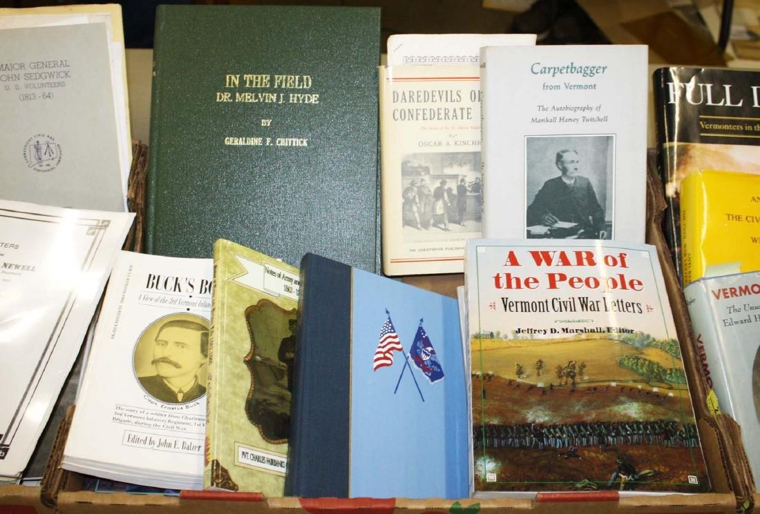 VT Civil War reference books & pamphlets - 3