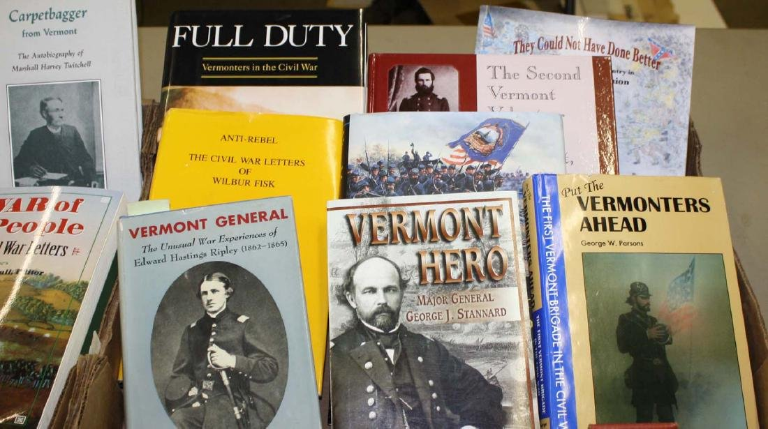 VT Civil War reference books & pamphlets - 4