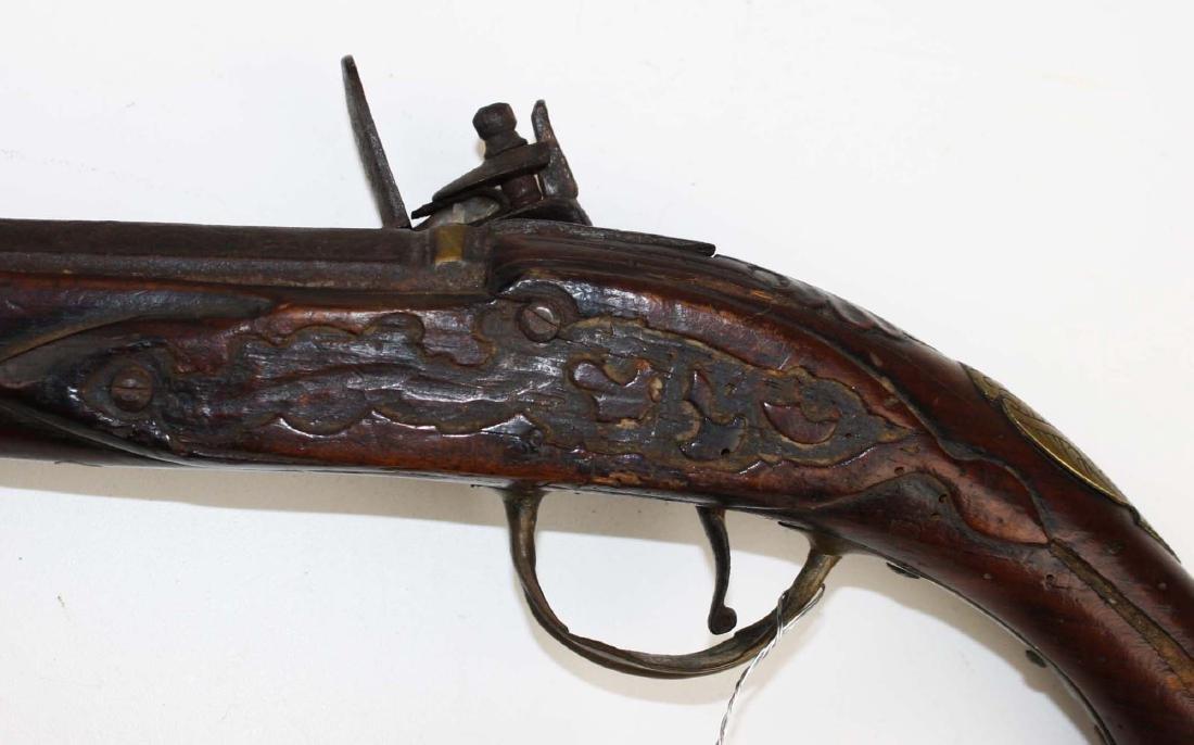 Continental Flintlock Pistol - 7