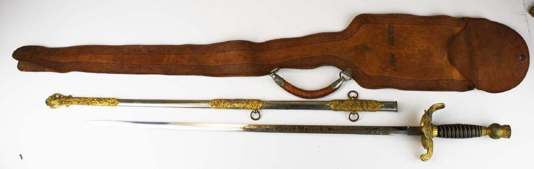 Odd Fellows dress sword w/ scabbard - 3