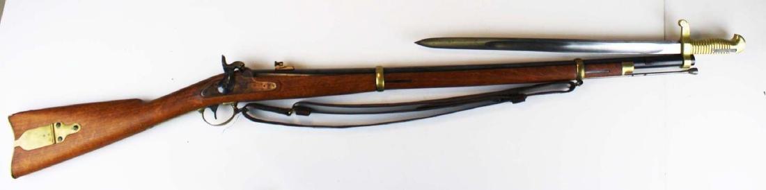 replica Remington Zouave rifle - 2
