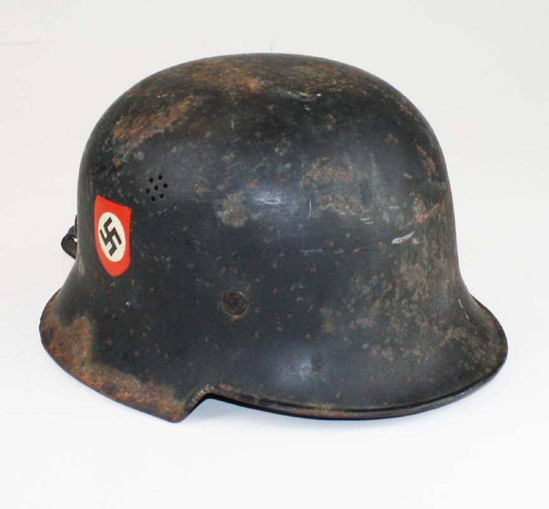 German WWII Nazi Luftwaffe helmet