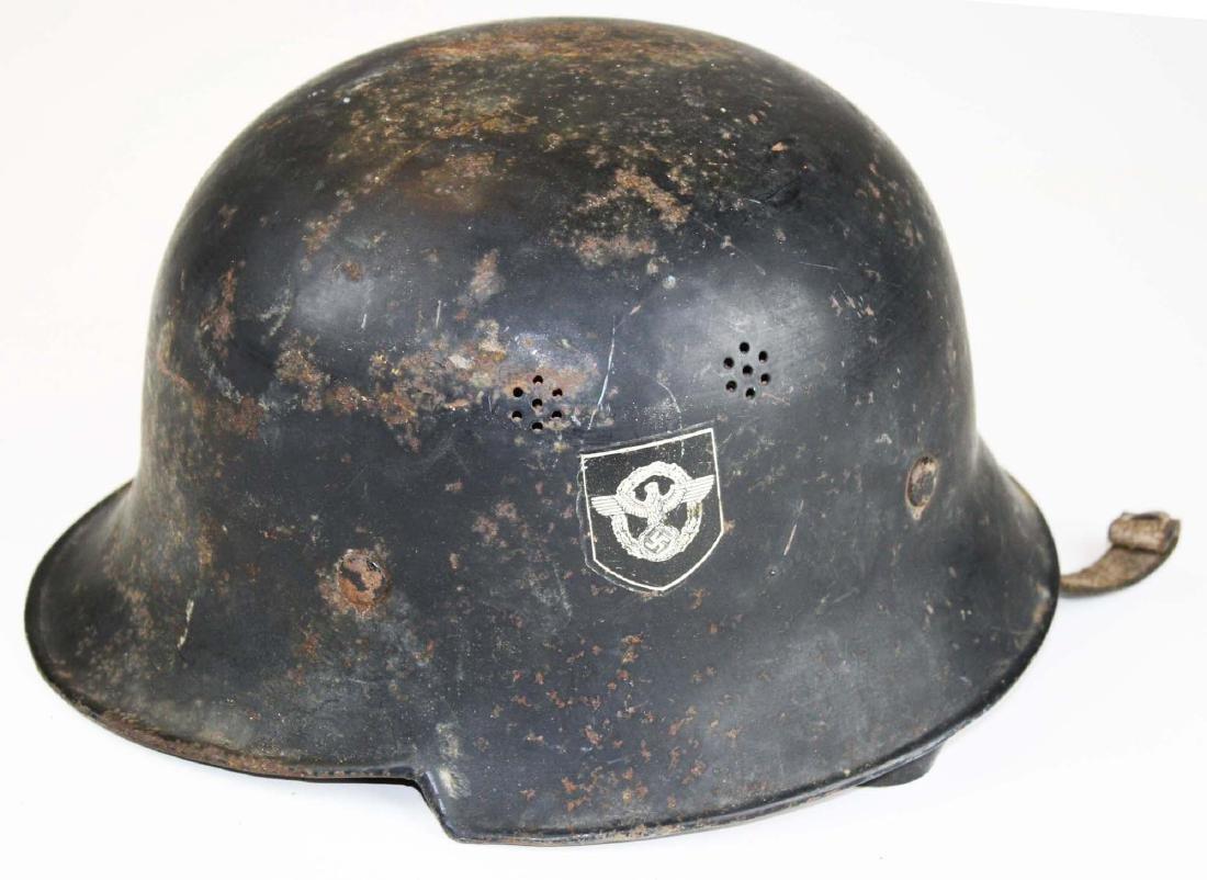 German WWII Nazi Luftwaffe helmet - 2