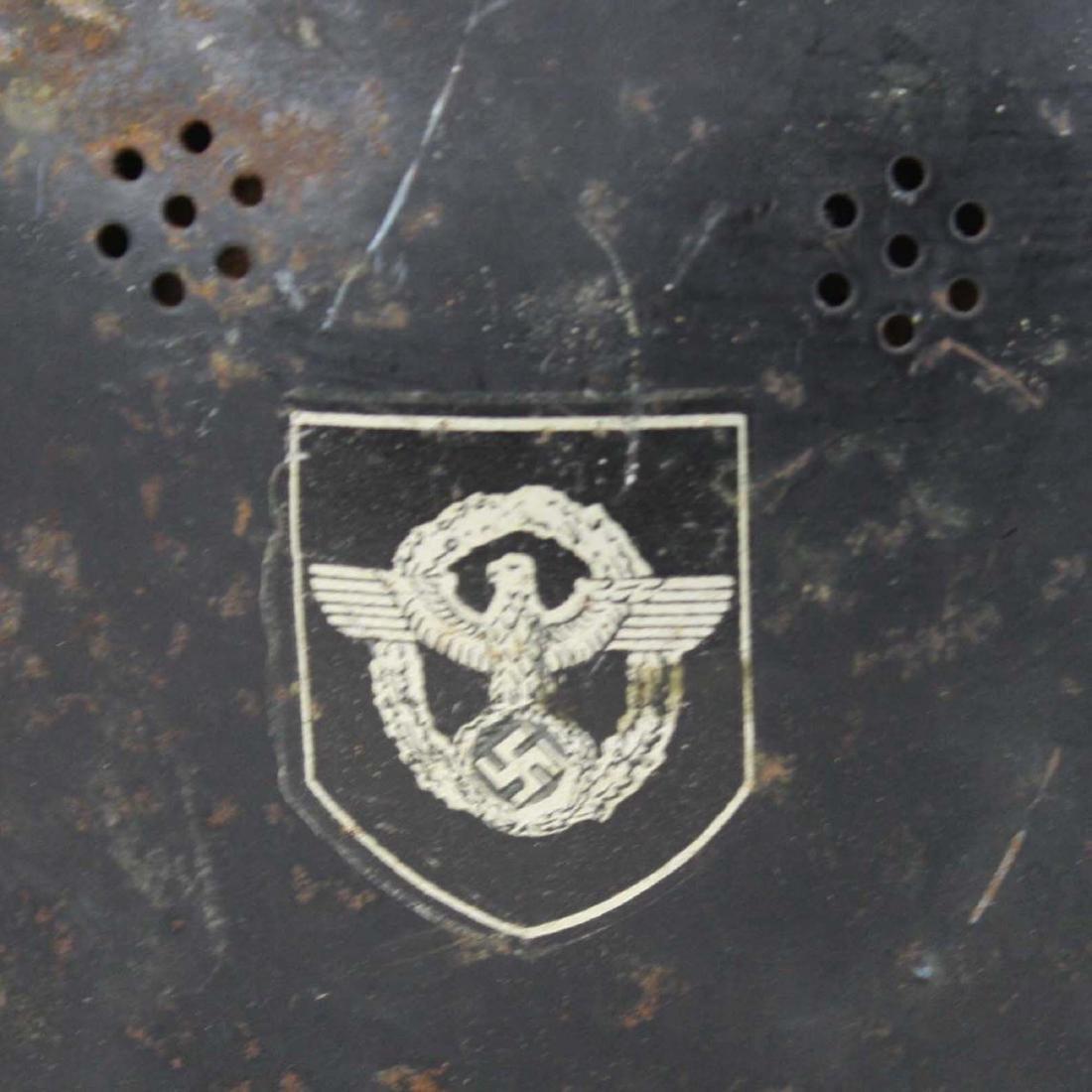 German WWII Nazi Luftwaffe helmet - 6