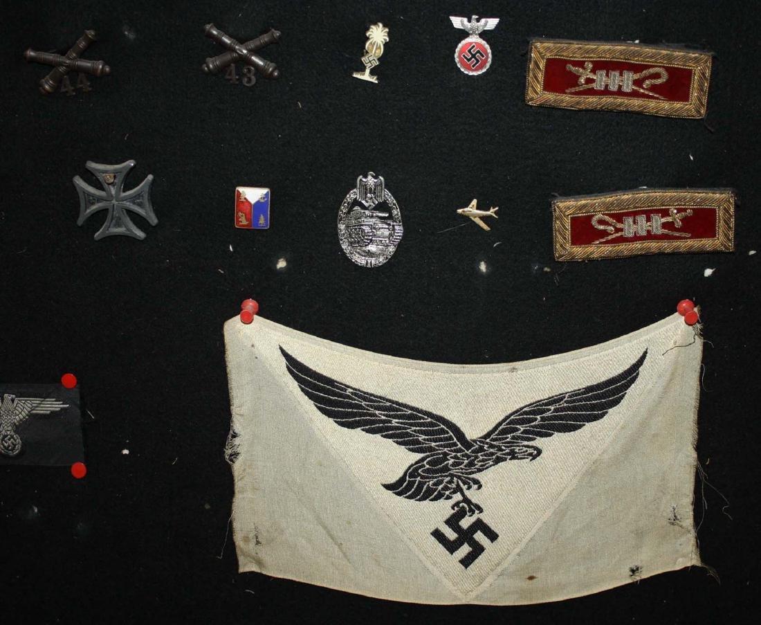 German WWII Nazi & American insignia - 3