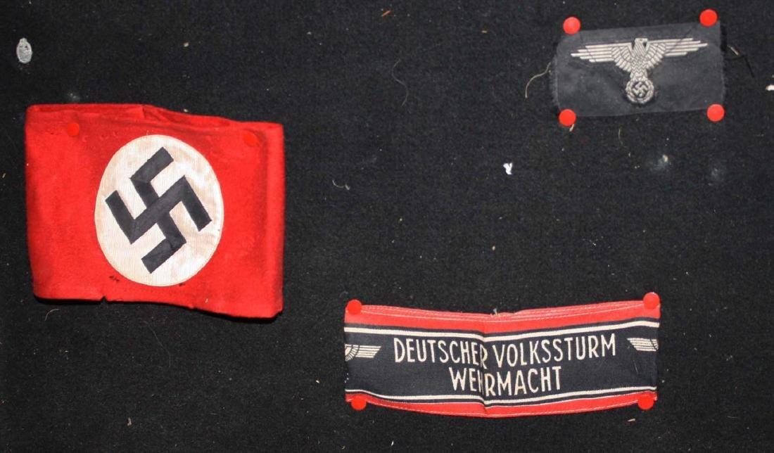 German WWII Nazi & American insignia - 4