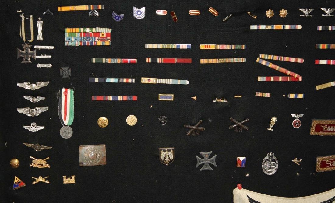 German WWII Nazi & American insignia - 5