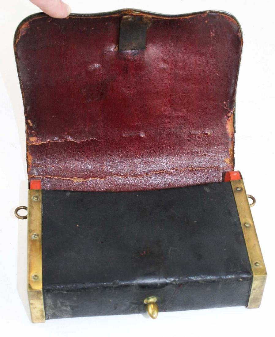 late 19th c Crown covered cartridge box - 2