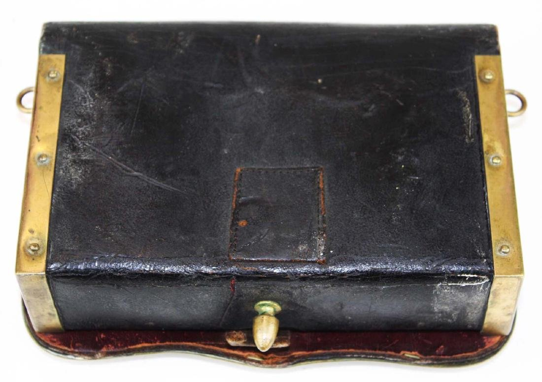 late 19th c Crown covered cartridge box - 4