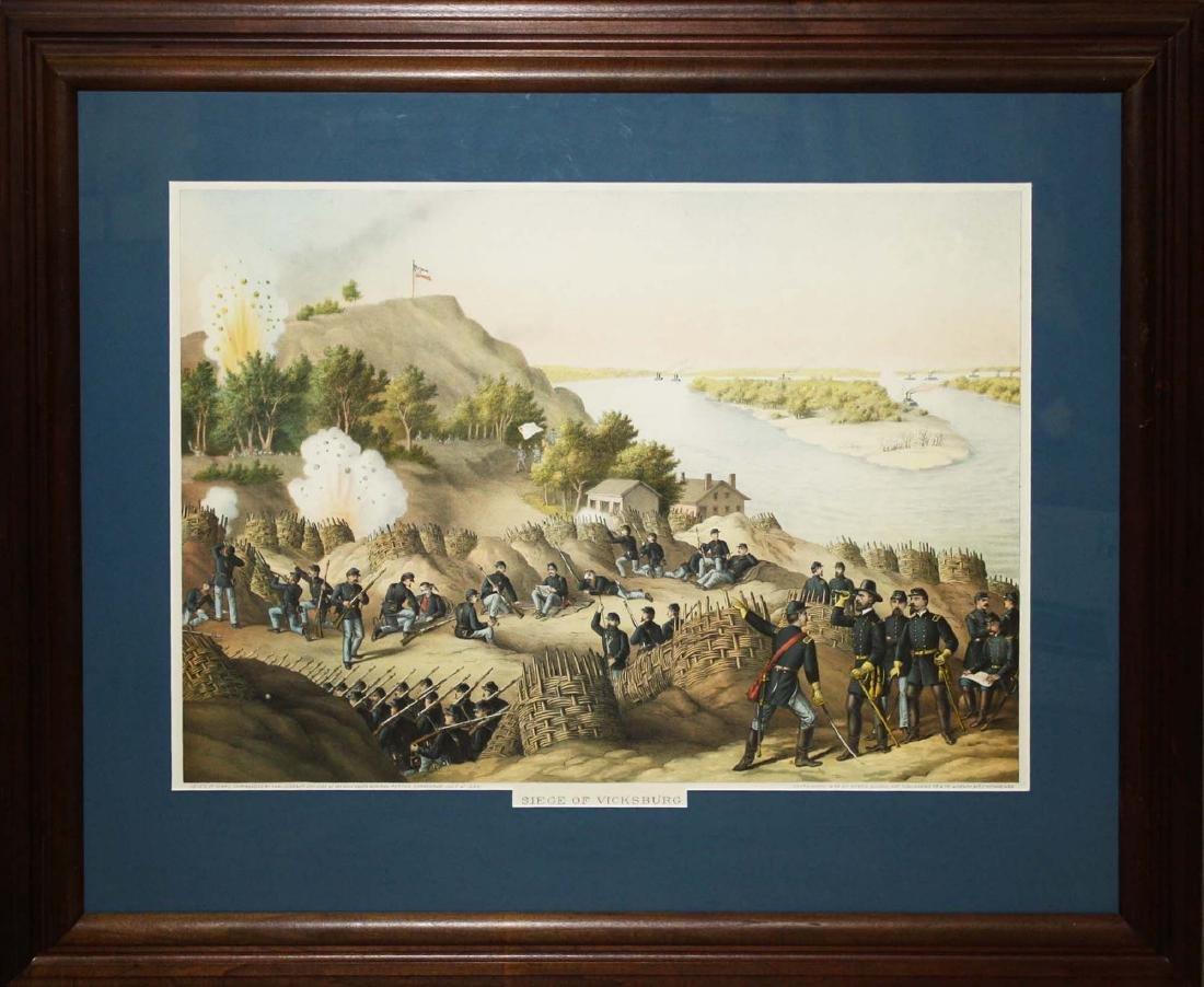 1888 Kurz & Allison Siege of Vicksburgh - 2