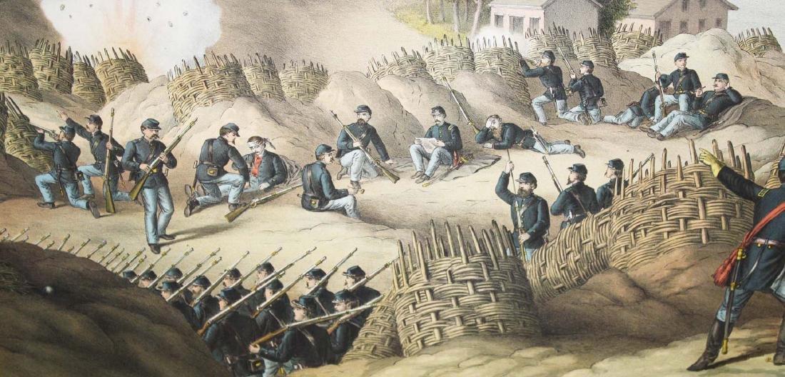 1888 Kurz & Allison Siege of Vicksburgh - 3