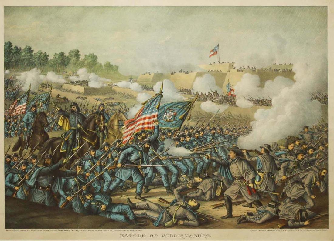 1893 Kurz & Allison Battle of Williamsburg