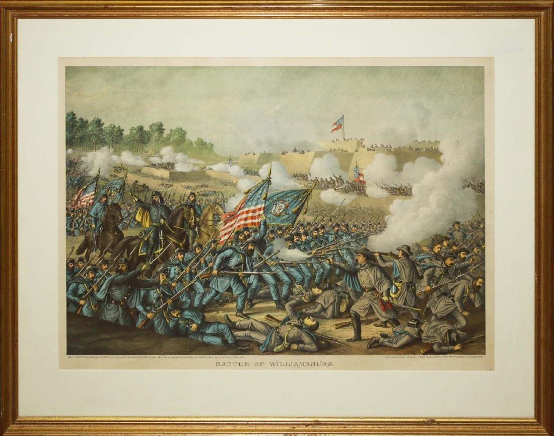 1893 Kurz & Allison Battle of Williamsburg - 2