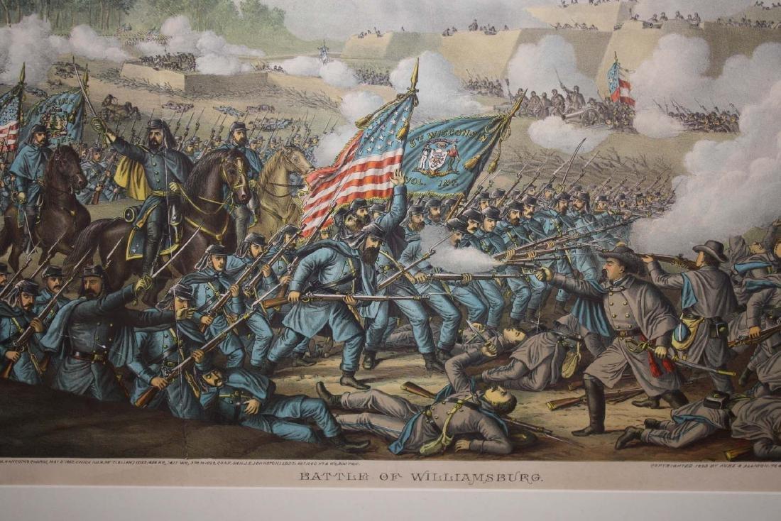 1893 Kurz & Allison Battle of Williamsburg - 3
