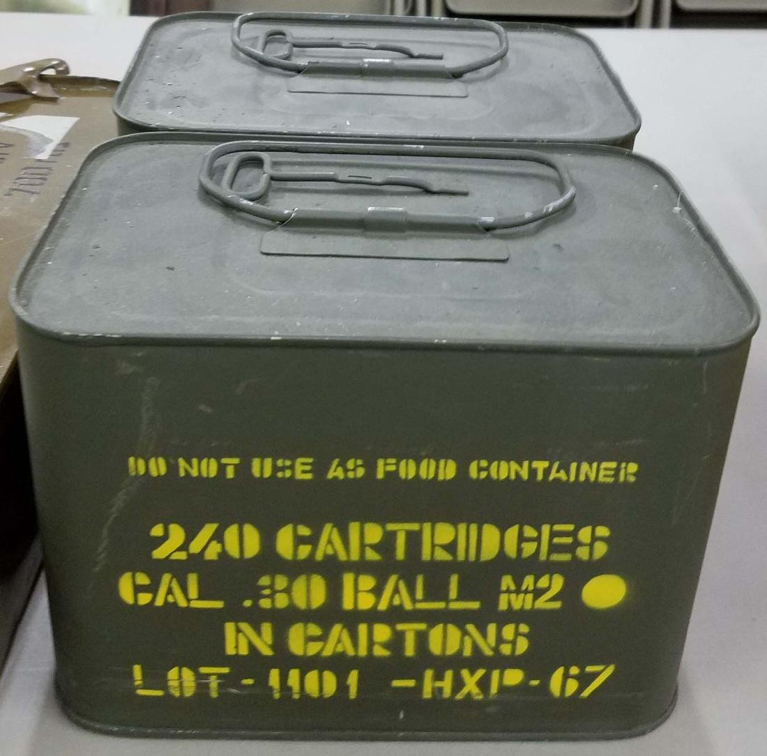 480 rounds of .30-06 Ball M2 in spam cans