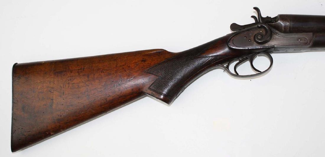 Interchangeable Keystone Dbl bbl shotgun - 2