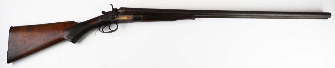 Interchangeable Keystone Dbl bbl shotgun - 3