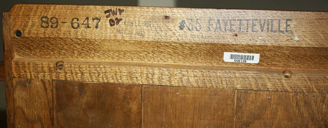 Stickley Fayetteville 3 door oak bookcase - 3