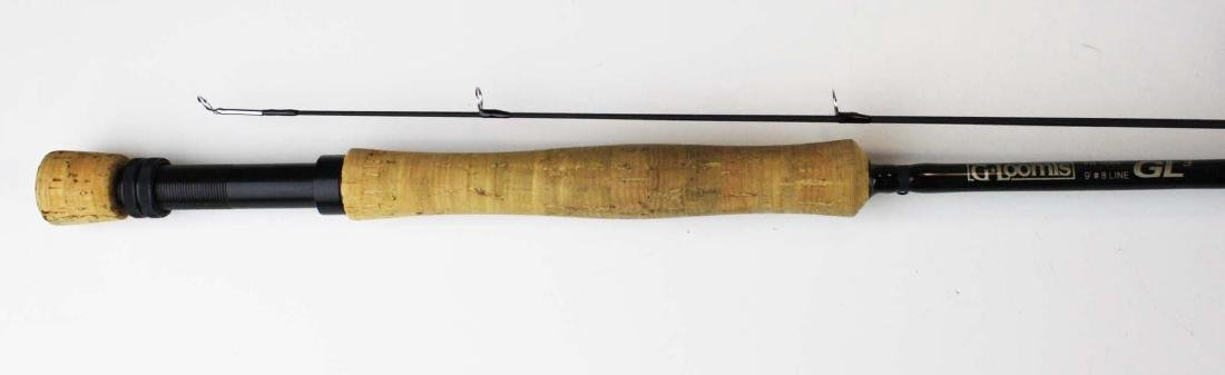G Loomis 9' 8 weight fly 2 pc fly rod.