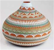 contemporary Navajo Hilda Whitegoat jar